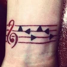 Legend of Zelda Epona's song tattoo