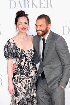Jamie Dornan and Dakota Johnson Look Really Delightful Together Here
