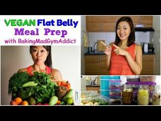 ♥ FULL 3 DAY FLAT BELLY MEAL PREP (collaboration with Joanna Soh) ♥ @BakingMadGymAddict ♥ - YouTube