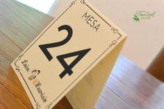 Números de mesa #Bodas Quinta Pavo Real del Rincón www.pavorealdelrincon.com.mx