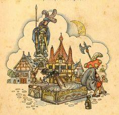 Märchenillustration von Ruth Koser-Michaëls (1896-1968)
