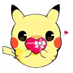 Cute Cartoon Drawings, Cute Cartoon Pictures, Cute Kawaii Drawings, Cute Pictures, Pikachu Drawing, Pikachu Art, Foto Pikachu, Sunset Color Palette, Pokemon Realistic