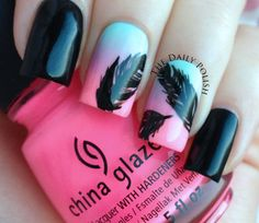 Feather #nails