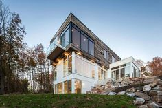Gatineau Hills Residence-Christopher Simmonds Architect-03-1 Kindesign