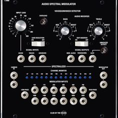 Club Of The Knobs - Audio Spectral Modulator