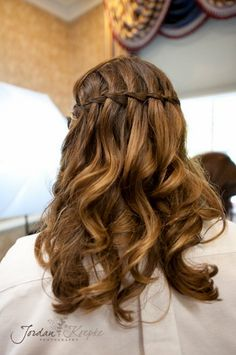 Unique braided hair style {Photo by Jordan Koepke Photography}