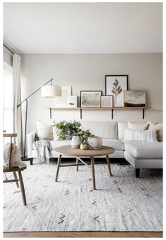 Living Room Makeover #modern #living #room #furniture #ideas #cozy #modernlivingroomfurnitureideascozy Time for the living room makeover reveal! I recently surprised my sister and brother-in-law with a living room makeover and am spilling all the details today. This was such a fun project to do! I l… Living Room Decor Styles, Living Room Decor On A Budget, Living Room Grey, Rugs In Living Room, Interior Design Living Room, Living Room Furniture, Living Room Designs, Cozy Living, Room Rugs