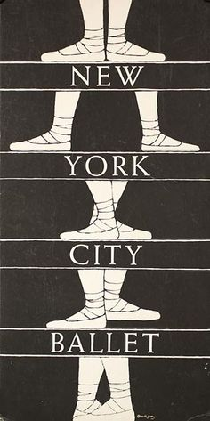Edward Gorey poster for New York City Ballet My ballet teacher had this above the stairs at the studio. Poster: New York City Ballet, Designed by Edward Gorey. Gift of Unknown Donor to the Cooper Hewitt Museum. Edward Gorey, Art Design, Graphic Design, Stand Design, Design Web, Booth Design, Banner Design, Ballet Posters, City Ballet