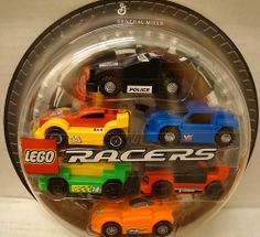 Were you lucky enough to score the full set of Lego racers in 2009?!