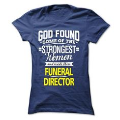 I am a Funeral Director Cool Funeral director T Shirt (*_*)