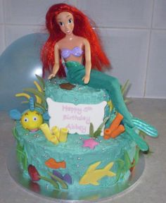 Ariel and her friends