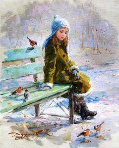 Tutt'Art@ | Pittura * Scultura * Poesia * Musica | : Konstantin Razumov | Russian impressionist