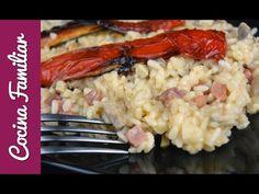 Arroz meloso con solomillo de cerdo y champiñones | Recetas caseras de Javier Romero - YouTube