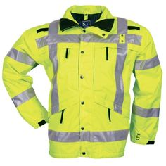 511 Tactical 48014 Y HighVisibility Reflective Reversible Parka Medium * Want additional info? Click on the image. (Note:Amazon affiliate link)