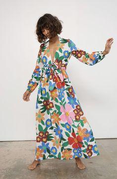 feeling loose – four fab frocks Look Fashion, Spring Fashion, Fashion Design, Mode Outfits, Fashion Outfits, Womens Fashion, Estilo Hippie Chic, Inspiration Mode, Street Style