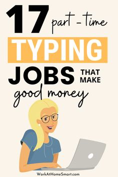 Looking for the best typing jobs to make money online? If yes, be sure to check out our list of work from home typing jobs for beginners and pros. Work From Home Typing, Work From Home Jobs, Earn Money From Home, Make Money Online, How To Make Money, Online Typing Jobs, Business Ideas, Mom, Type