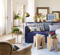 Esta primavera... ¡quiero dar color a mi salón!