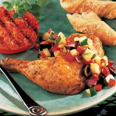 Lemon Chicken with Cucumber Salsa - The Pampered Chef®