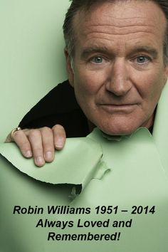 Robin Williams One Year Later –Click Link To Read The tribute as well as a listing of his Movies and Charities.