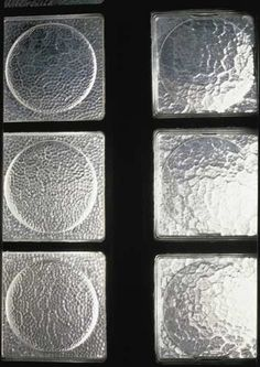 maisondeverre-PierreChareau Ceramic Mosaic Tile, Glass Partition, Glass Blocks, Glass House, Building Materials, Bordeaux, Interiors, Marbles, Facades
