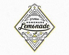 Lemonade Logo Design | #logo #design #inspiration