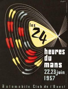 les 24h du Mans 1957 - Automobile Club de l'Ouest - (Jeudon) -