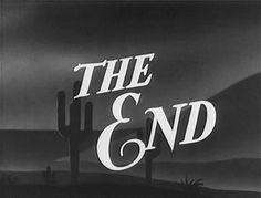 The End ~Repinned via Frankly MyDear   http://www.flickr.com/photos/hytam/7826683960/in/pool-400716@N22
