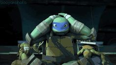 This is litterly me watching TMNT