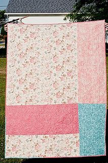 Delta's quilt back by ittehgaps, via Flickr