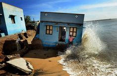 The Atkins built environment award 2016 goes to Indian photojournalist SL Kumar Shanth for 'Losing Ground to Manmade Disaster', which depicts the damage being wrought on the coastline at Chennai, the biggest metropolis in southern India, by a combination of man-made and natural forces.  Photograph: S L Shanth Kumar/2016 EPOTY