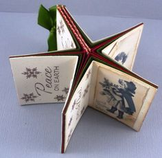 Tuto mini star book : https://cardsandcompany.wordpress.com/2012/06/26/mini-star-book-tutorial/