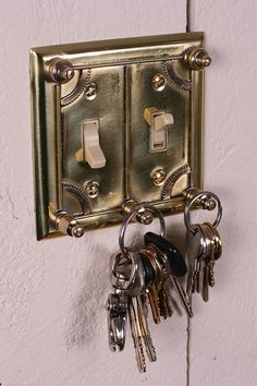 Steampunk Key holder.