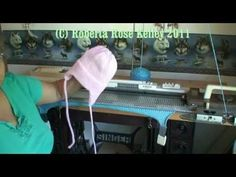 Ear Flap Hat on the knitting machine - Knitting Story Knitting Machines For Sale, Knitting Machine Patterns, Double Knitting, Loom Knitting, Baby Knitting, Knitting Quotes, Flap Hat, Baby Fabric, Diy Scarf