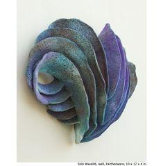 Mary Roettger Ceramic Arts. Preciosa la forma y precioso el color!!