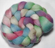 Handpainted Roving - Easter -  Falkland Wool