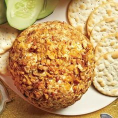 Best Party Appetizer Recipes: Cheddar-Horseradish-Walnut Cheese Ball
