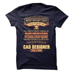 CAD Designer T-Shirts, Hoodies. BUY IT NOW ==► Funny Tee Shirts