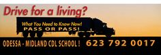 cdl school San Antonio commercial driver license (623) 792 0017 click here