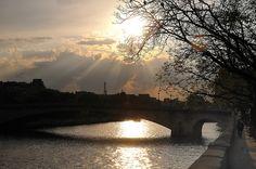 Glory over the Seine