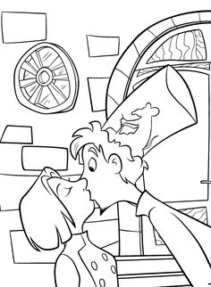 coloring page Ratatouille on Kids-n-Fun. At Kids-n-Fun you will always find the nicest coloring pages first! Cool Coloring Pages, Disney Coloring Pages, Christmas Coloring Pages, Printable Coloring Pages, Adult Coloring Pages, Coloring Pages For Kids, Coloring Books, Kids Coloring, Disney Pixar