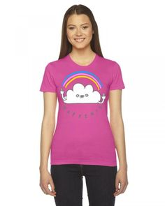 Happiness Ladies Fitted T-Shirt