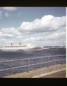 ORIGINAL 35mm SS NIEUW AMSTERDAM HOLLAND AMSTERDAM OCEAN LINER    4-72 NYC