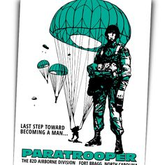 Infidels Incorporated - 82nd Airborne Re-Enlist Poster, $11.00 (http://www.infidelsinc.co/82nd-airborne-re-enlist-poster/)