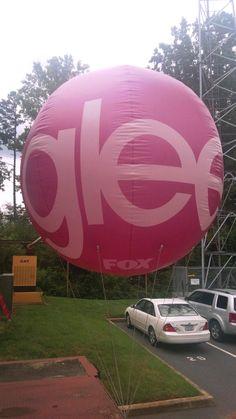 "We're just ""Glee""-ful here at FOX46 Carolinas!!!"