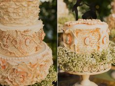 Jane Austen Inspired Wedding cake La Caille utah wedding alixann loosle photography calie rose