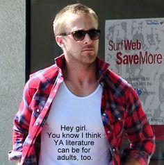 Ryan Gosling Hey Girl Library