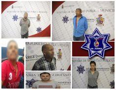 <p>Juárez, Chih.- Elementos de la Policía Municipal adscritos a la Unidad Especializada en Violencia Doméstica (UNEVID) en diferentes