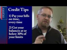 Improve Your Credit Pay Bills on Time: 60 Second Mortgage Tip