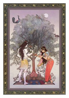 Shiv and Sati. In Hindu legend, both Sati and Parvati successively play the role of bringing Shiva away from ascetic isolation into creative participation in the world.