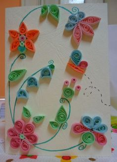 quilled card-made by Beelyana